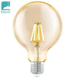 Lampara LED 4w Globo Vintage Ambar 14.5* 9.5cm Ø EGLO