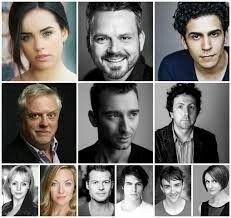 Rocky Horror Show cast of 2016 Tour