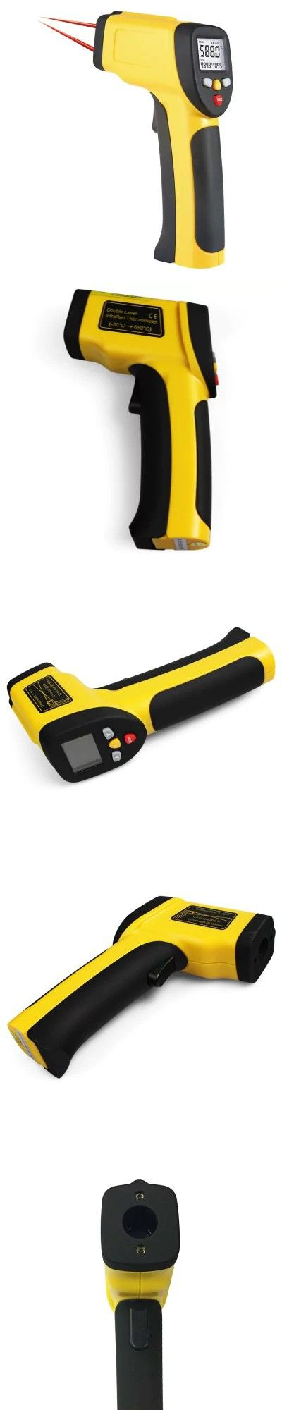 XINTEST HT - 817 Digital LCD Back Dual Laser Infrared Thermometer -$26.2