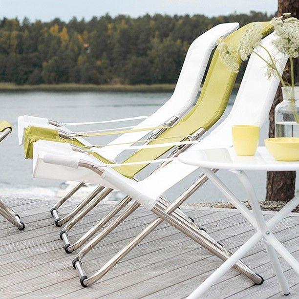 NYHET! Förbered dig inför sommarens lata dagar  #fiam #fiesta #solstol #homebysweden #heminredning #design