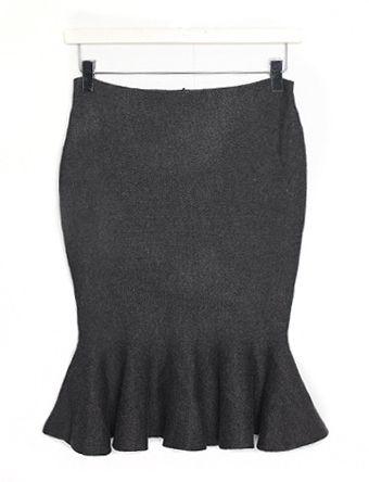 머메이드니트,skirt