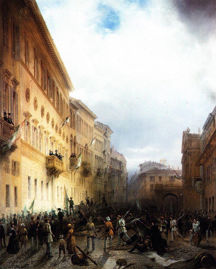 The Five Days of 1848 in Milano, Milano, Museo del Risorgimento di Milano
