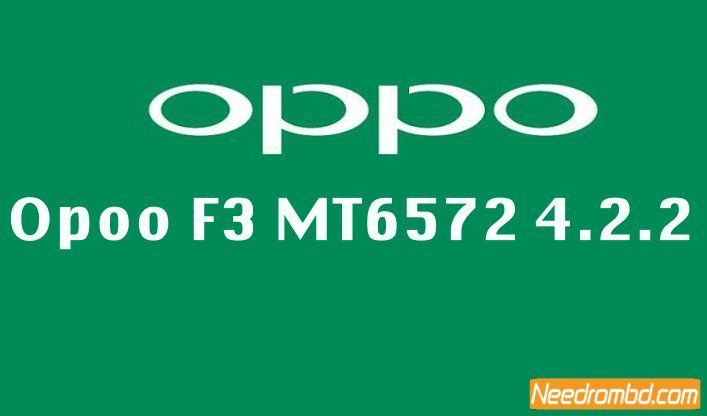 Opoo F3 MT6572 4 2 2 Clone Firmware   Smartphone Firmware   Android