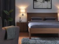 Bedroom Furniture - Beds, Mattresses & Inspiration - IKEA- Nyvoll bed and nightstand
