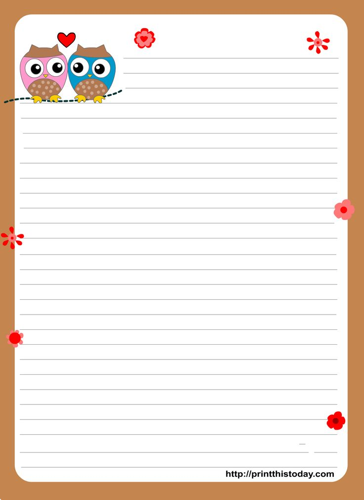 Owl writing paper can be used in many ways. Kids will enjoy writing on it and you can also print it to play games on owl themed baby shower or birthday party. These cute designs are also suitable if you...