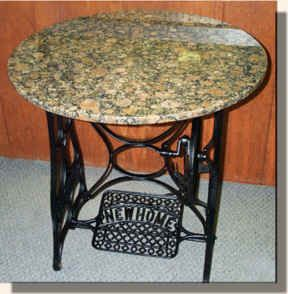 Used Furniture Lawrence Ks ... room on Pinterest | Sewing machine tables, Furniture and Black trim