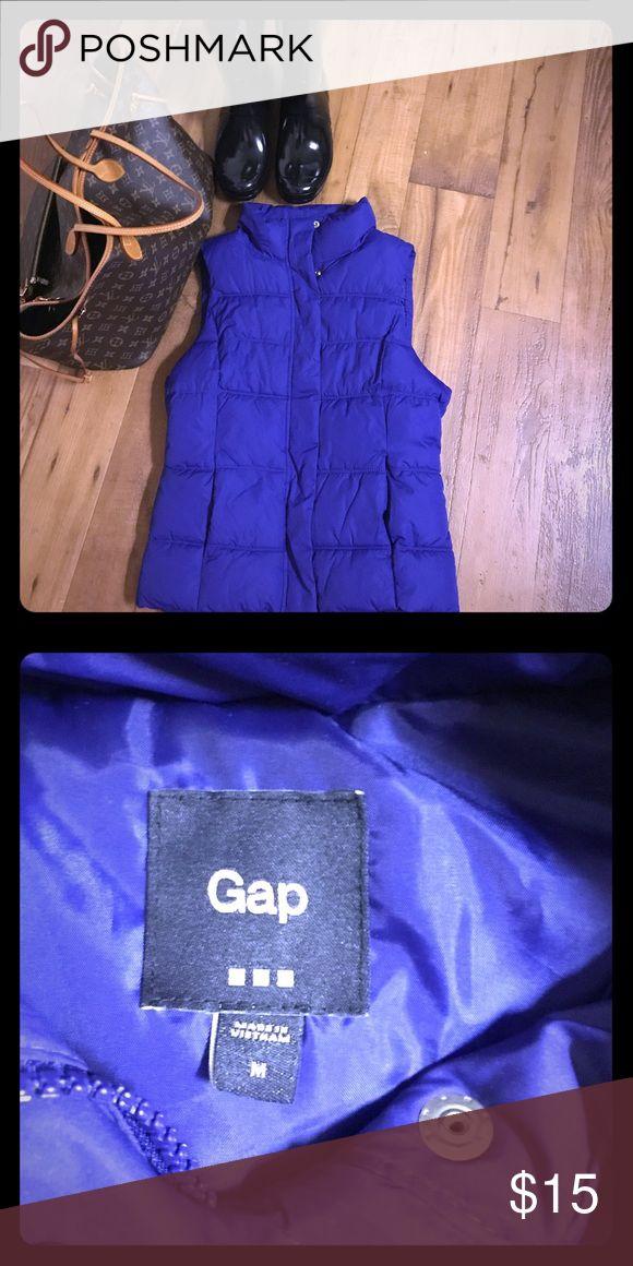 Gap vest size M Gap puffer purple vest size M Jackets & Coats Vests