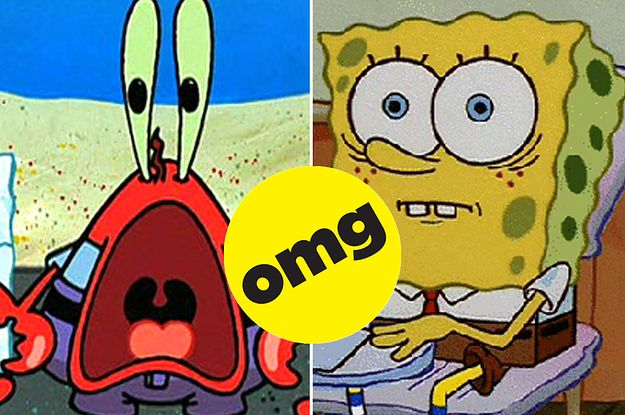 "Nickelodeon Shut Down This Disturbing ""SpongeBob"" Theory And Everything Is Pure Again, Sorta"