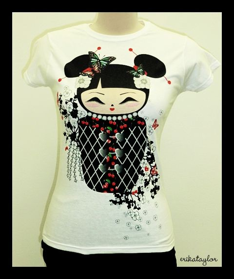 Cute printed T-shirt from Erika Taylor Check her out at https://www.facebook.com/erikataylor.fashion