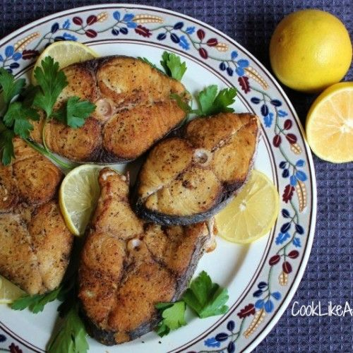 Jamaican fried king fish recipe cook like a jamaican for Alaska fish and chicken menu
