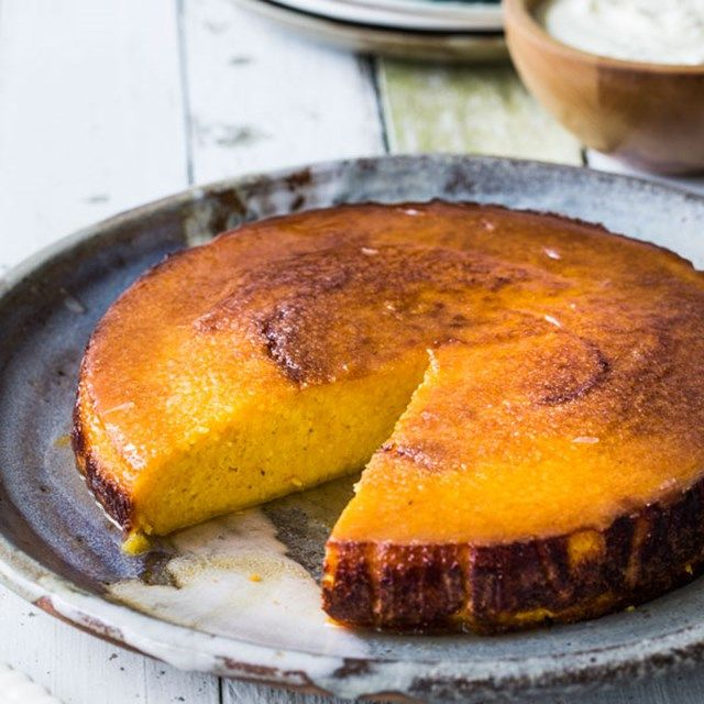 Mandarin Syrup Cake by Nadia Lim. Gluten and dairy free {contains eggs and almonds}
