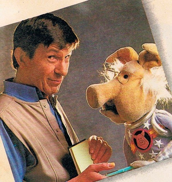 Spocks Interview In Muppet Magazine Is The Pinnacle Of American Journalism. Pigs in Space and Spock