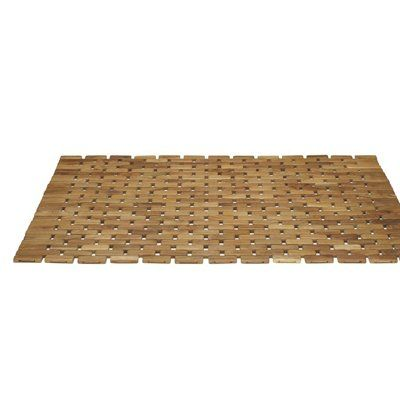 Pollenex x Teak Shower Mat   Lowes Canada  Similar to an Expresso one at  Target. Best 25  Teak shower mat ideas on Pinterest   Floor mats  Shower
