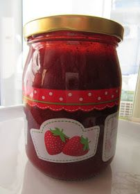 ΜΑΓΕΙΡΙΚΗ ΚΑΙ ΣΥΝΤΑΓΕΣ: Μαρμελάδα φράουλα !!!