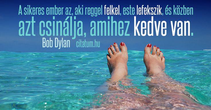 Bob Dylan #idézet