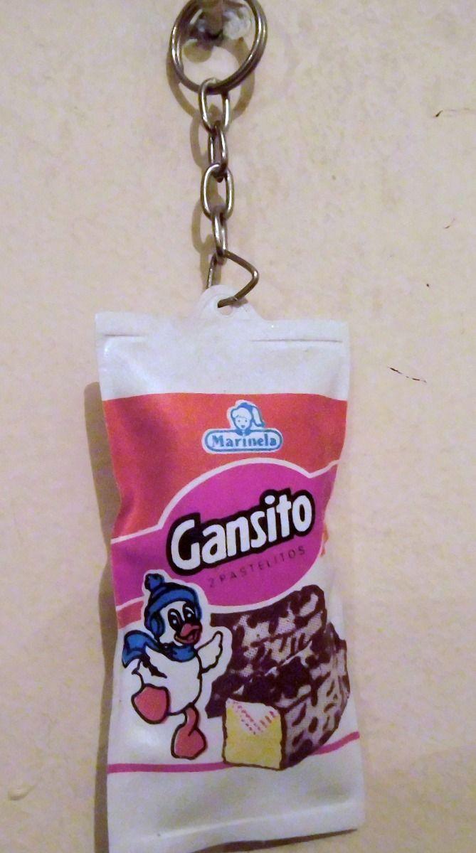 Llavero De Colección Gansito Marinela Años 80s - $ 180.00 ...