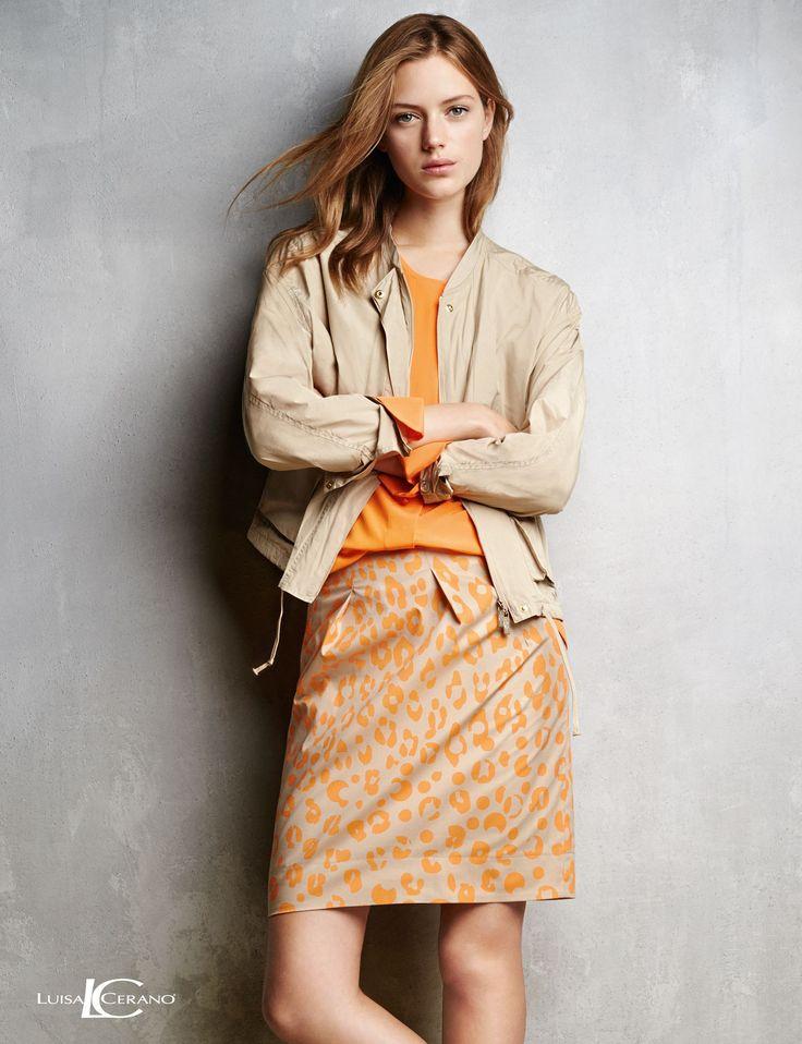 LUISA CERANO Kollektion Frühjahr/Sommer 2015 – Look15 #fashion #FS15