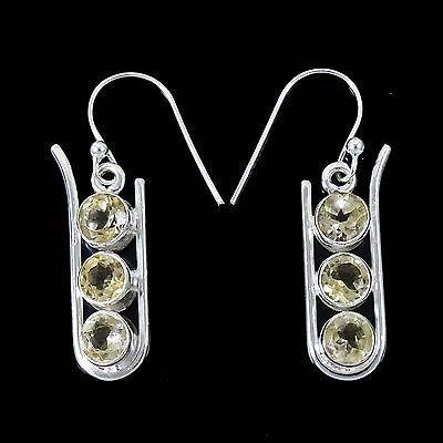 Citrine Stone Earring 925 Sterling Silver Buy Online Fashion Jewellery 4 Gram | eBay