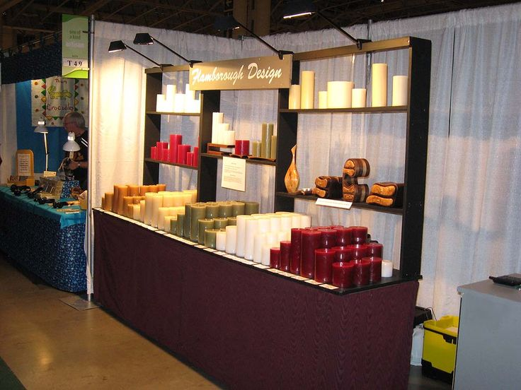 Small Trade Show Booth Lighting