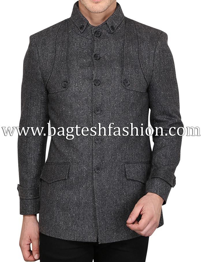 Indian Designer Jodhpuri Winter Jacket