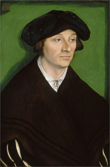 Lucas Cranach the Elder   Portrait of a Man (1522)  
