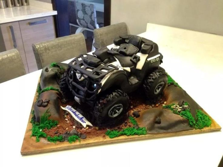 Atv Can Am Cake By Rock N Rolla Cakes Cake Decorating