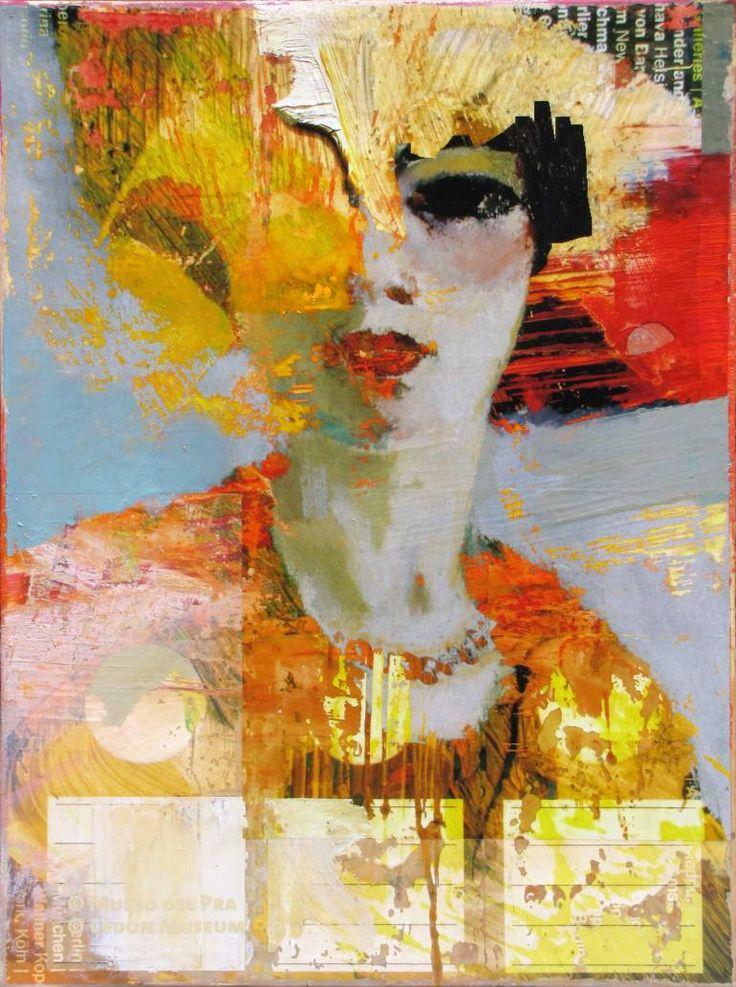 Saatchi Art Artist Peter Vahlefeld; Painting, u201cMarketing Campaign - küchen wanduhren shop