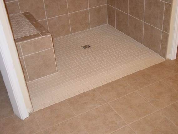Accessible U0026 Stylish, Barrier Free Shower Stalls Built With Ceramic Tile.
