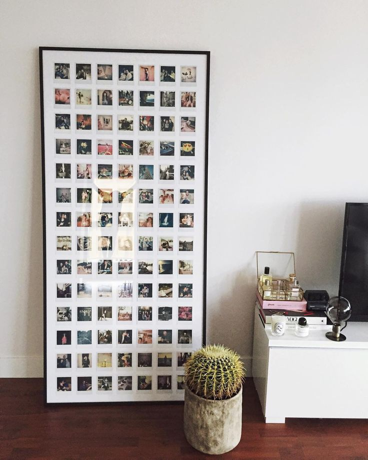 My personal project is finally finished. Exactly 98 polaroids that I took over the past year with my love, family and friends and our favorite trips displayed in a customized picture frame in our living room. 2015 brought us so much and I couldn't be more grateful. Getting excited for 2016..  #neginterior