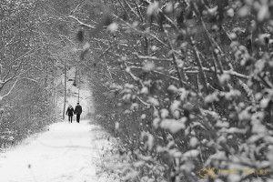 Pareja en la nieve  JuanKRuales Photography