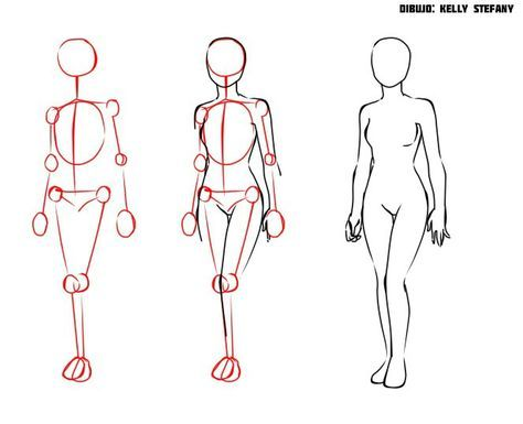 Lernen Sie mit diesem einfachen Tutorial, den menschlichen Körper zu zeichnen.