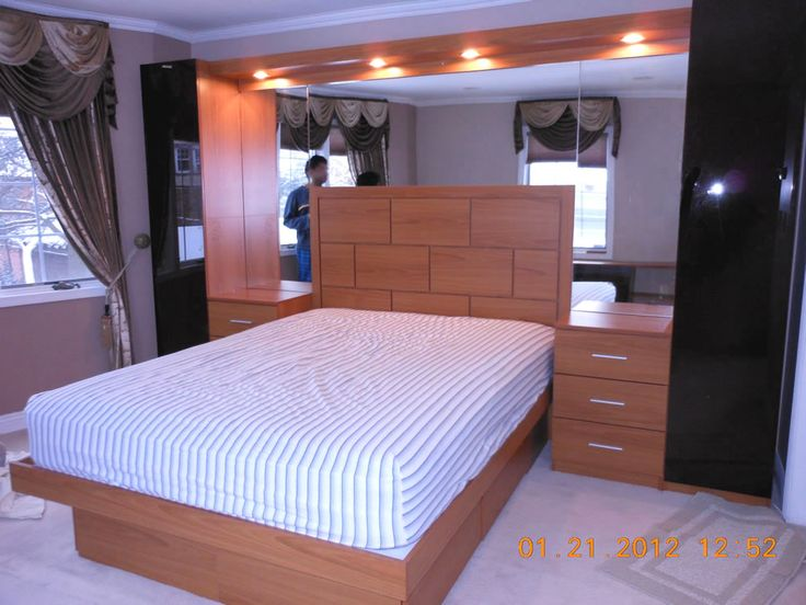 bedroom furniture interior fascinating wall. Pier Wall Bed Includes Wardrobes And Nightstands Bedroom Furniture Interior Fascinating D
