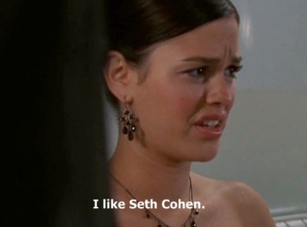 """I like Seth Cohen."" - Summer Roberts. The OC. The horror. Season 1, #10: The Perfect Couple."