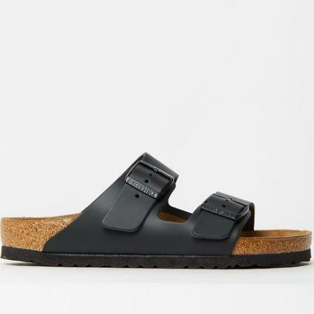 Everyone favourite shoe; The black arizona birkenstock is definitely a top 10!