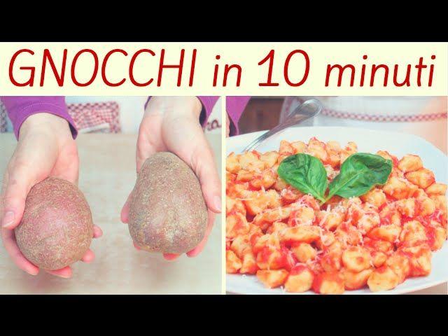 GNOCCHI DI PATATE FACILISSIMI FATTI IN CASA DA BENEDETTA Vediamo come fare gli gnocchi di patate, uno dei primi piatti più amati! Le