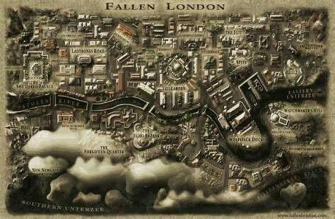 Mapa de Fallen London