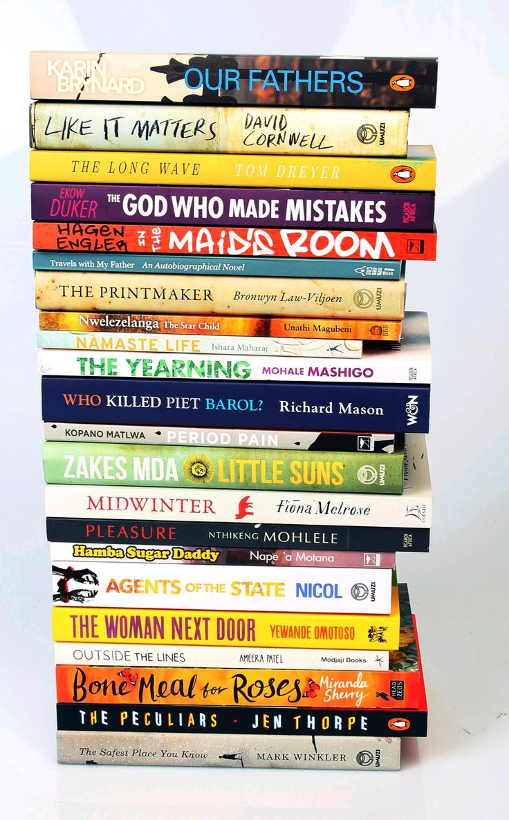 The 2017 Sunday Times Awards: Barry Ronge Fiction Prize longlist