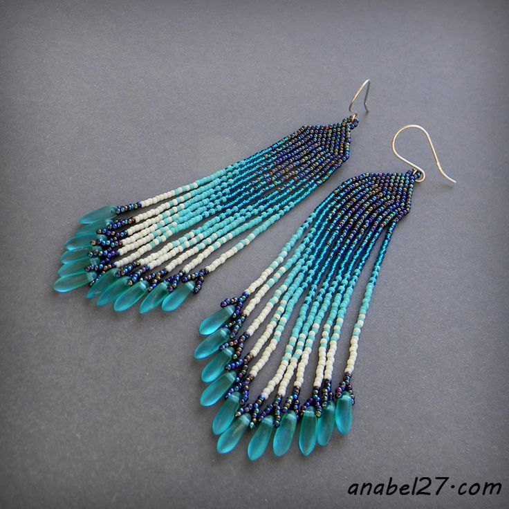 25 best ideas about brick stitch earrings on