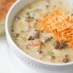 Cheeseburger Soup by therecipecritic