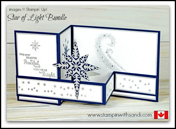Stampin Up Star of Light - Stampin With Sandi - Canadian Stampin Up Demonstrator
