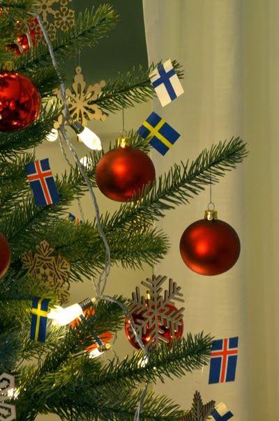 Christmastree decorations.