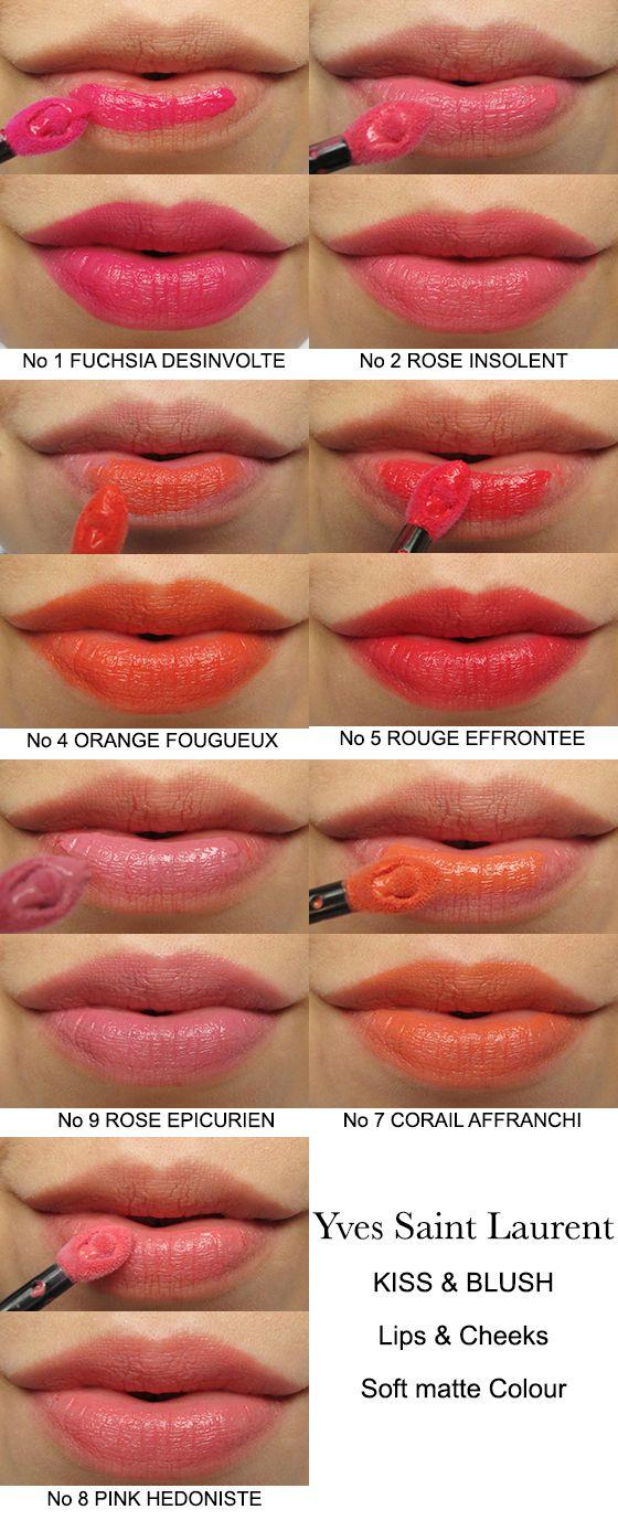 LOTD & Application: YSL Babydoll Kiss & Blush!