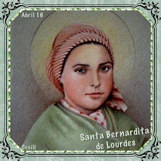 SANTORAL CATOLICO: IMÁGENES DE SANTA BERNARDITA DE SOUBIROUS