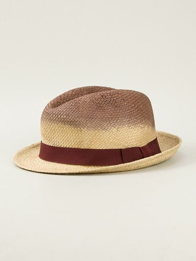 Aran Dip Died Paper Hat - PAUL SMITH