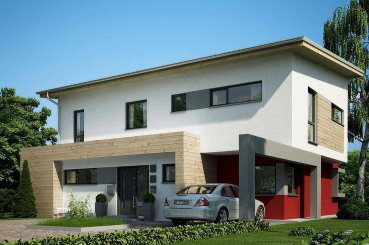 Wundervoll Fertighaus Architektenhaus Parcival, Zweigeschossiges Pultdachhaus Von  Büdenbender