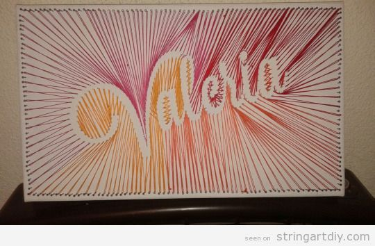 String Art DIY website with tons of ideas, tutorials and videos.