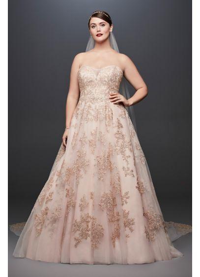 f635721d57e99 Long Ballgown Romantic Wedding Dress - Oleg Cassini