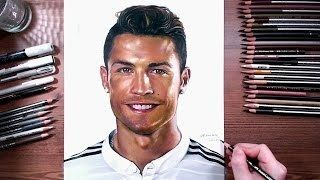 Cristiano Ronaldo  speed drawing | drawholic