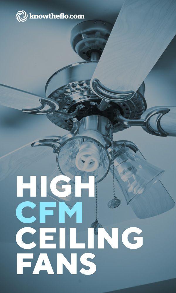 High Cfm Ceiling Fan List Comparisons 2019 Ceiling Fan