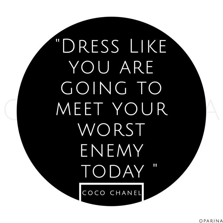 COCO CHANEL - #cocochanel #oparina #cocochanelquotes #quotes #fashion  #madewithstudio